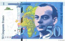 50 Francs SAINT-EXUPÉRY Modifié FRANCE  1994 F.73.01b pr.NEUF