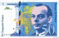 50 Francs SAINT-EXUPÉRY Modifié FRANCE  1994 F.73.01d SPL