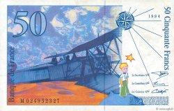 50 Francs SAINT-EXUPÉRY Modifié FRANCE  1994 F.73.01d TTB