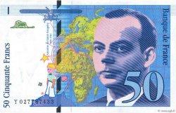 50 Francs SAINT-EXUPÉRY Modifié FRANCE  1994 F.73.01d SUP
