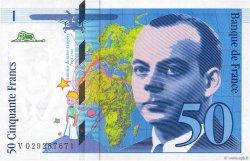 50 Francs SAINT-EXUPÉRY Modifié FRANCE  1996 F.73.02 SPL