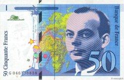 50 Francs SAINT-EXUPÉRY Modifié FRANCE  1996 F.73.03 TTB+
