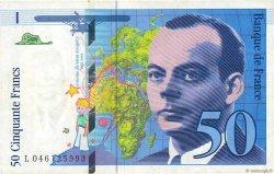 50 Francs SAINT-EXUPÉRY Modifié FRANCE  1996 F.73.03 TTB
