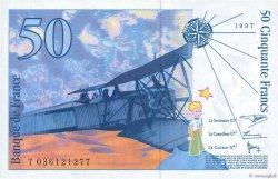 50 Francs SAINT-EXUPÉRY Modifié FRANCE  1997 F.73.04 SPL