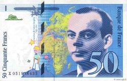 50 Francs SAINT-EXUPÉRY Modifié FRANCE  1999 F.73.05 TTB+