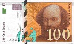 100 Francs CÉZANNE FRANCE  1997 F.74.01