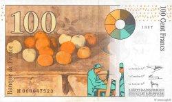 100 Francs CÉZANNE FRANCE  1997 F.74.01 NEUF