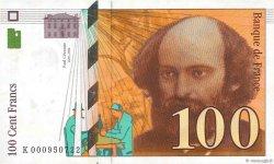 100 Francs CÉZANNE FRANCE  1997 F.74.01 SUP