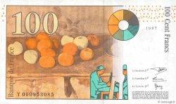 100 Francs CÉZANNE FRANCE  1997 F.74.01 pr.SUP