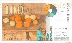 100 Francs CÉZANNE FRANCE  1998 F.74.02 SUP+