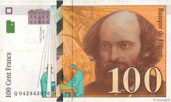 100 Francs CÉZANNE FRANCE  1998 F.74.02 TTB