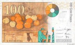 100 Francs CÉZANNE FRANCE  1997 F.74.01 TTB