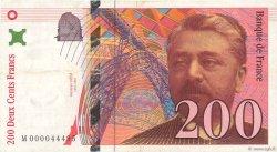 200 Francs EIFFEL FRANCE  1995 F.75.01 TB