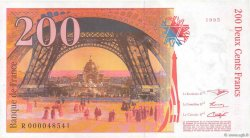 200 Francs EIFFEL FRANCE  1995 F.75.01 SUP+