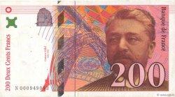 200 Francs EIFFEL FRANCE  1995 F.75.01 pr.TTB