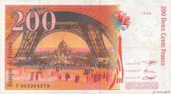 200 Francs EIFFEL FRANCE  1996 F.75.02 pr.TTB