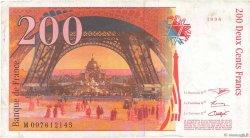200 Francs EIFFEL FRANCE  1996 F.75.02 TTB