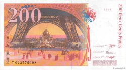200 Francs EIFFEL FRANCE  1996 F.75.02 SUP