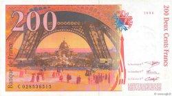200 Francs EIFFEL FRANCE  1996 F.75.02 TTB+