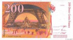 200 Francs EIFFEL FRANCE  1996 F.75.02 SPL