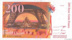 200 Francs EIFFEL FRANCE  1996 F.75.02 pr.SPL