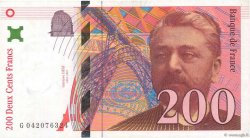 200 Francs EIFFEL FRANCE  1996 F.75.03a TTB