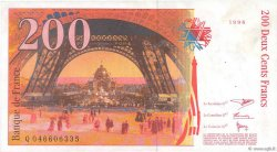 200 Francs EIFFEL FRANCE  1996 F.75.03b TTB+