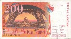 200 Francs EIFFEL FRANCE  1996 F.75.03b pr.TTB