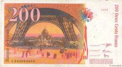 200 Francs EIFFEL FRANCE  1996 F.75.03b TB