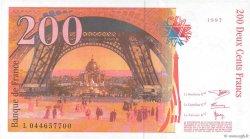 200 Francs EIFFEL FRANCE  1997 F.75.04a pr.NEUF