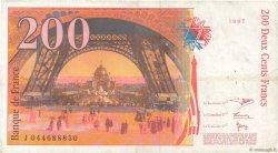 200 Francs EIFFEL FRANCE  1997 F.75.04a TB