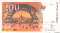 200 Francs EIFFEL FRANCE  1997 F.75.04a SUP