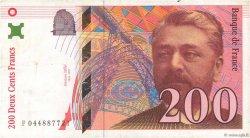 200 Francs EIFFEL FRANCE  1997 F.75.04a TB+