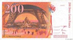 200 Francs EIFFEL FRANCE  1997 F.75.04b SUP