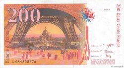 200 Francs EIFFEL FRANCE  1999 F.75.05 SPL