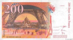 200 Francs EIFFEL FRANCE  1999 F.75.05 SUP+