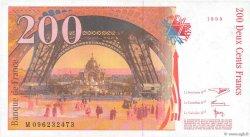 200 Francs EIFFEL FRANCE  1999 F.75.05 pr.SPL