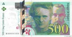 500 Francs PIERRE ET MARIE CURIE FRANCE  1994 F.76.01 pr.SPL
