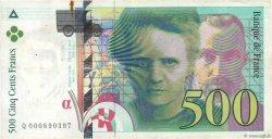 500 Francs PIERRE ET MARIE CURIE FRANCE  1994 F.76.01 TB