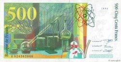 500 Francs PIERRE ET MARIE CURIE FRANCE  1994 F.76.01 SUP+