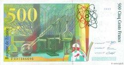 500 Francs PIERRE ET MARIE CURIE FRANCE  1995 F.76.02 SPL+
