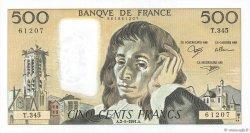 500 Francs PASCAL FRANCE  1991 F.71.47 SPL+