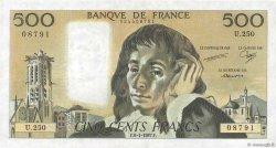 500 Francs PASCAL FRANCE  1987 F.71.35 SUP