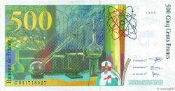500 Francs PIERRE ET MARIE CURIE FRANCE  1998 F.76.04 pr.SUP