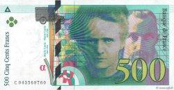500 Francs PIERRE ET MARIE CURIE FRANCE  2000 F.76.05 pr.SPL