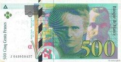 500 Francs PIERRE ET MARIE CURIE FRANCE  2000 F.76.05 SPL+