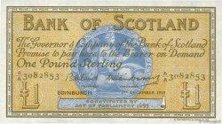 1 Pound ÉCOSSE  1959 P.100c SUP+