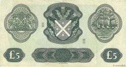 5 Pounds ÉCOSSE  1969 P.110b TTB