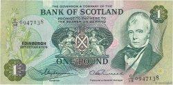 1 Pound ÉCOSSE  1974 P.111c TTB