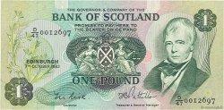 1 Pound ÉCOSSE  1983 P.111f TTB+